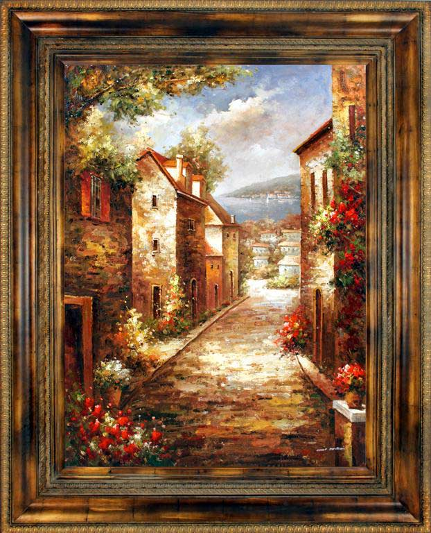 Catrina's Ranch Interiors Tuscan Art