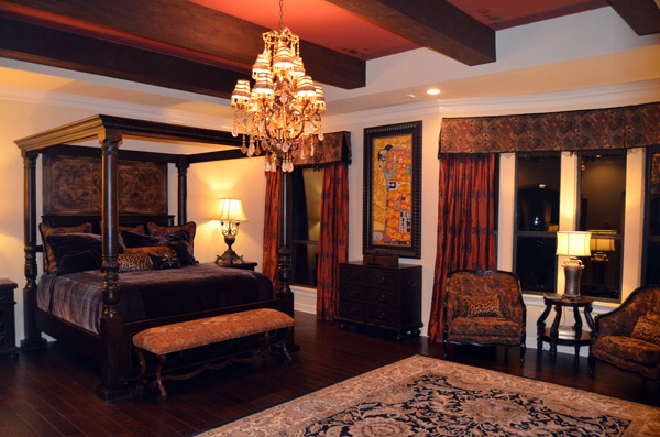 The magnificent Master Suite designed by award winner Catrina!
